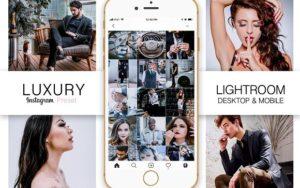 دانلود پریست لایت روم و فتوشاپ برای اینستاگرام Luxury Instagram Blogger Preset
