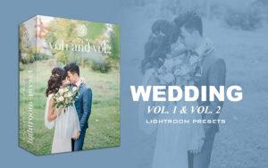 دانلود پریست لایت روم مخصوص عکس عروسی LIGHTROOM PRESETS VOL. 1 & VOL. 2