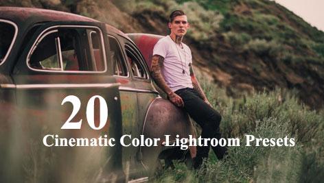 دانلود 20 پریست آماده لایتروم با افکت های سینمایی Cinematic Color Lightroom Presets