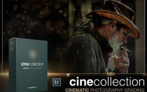 دانلود 20 پریست آماده لایت روم تم سینمایی Cine Collection Lightroom Presets