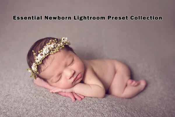 دانلود 29 پریست لایت روم مخصوص نوزادان Essential Newborn Lightroom Presets Collection