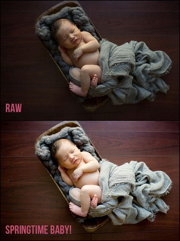 دانلود 29 پریست لایت روم مخصوص نوزادان Essential Newborn Lightroom Presets Collection (2)