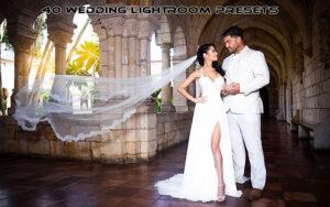 40 پریست حرفه ای لایت روم برای عروسی Wedding Lightroom Presets Set