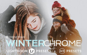 پریست لایت روم و Camera Raw تم زمستان Winterchrome Presets for LR And Camera Raw