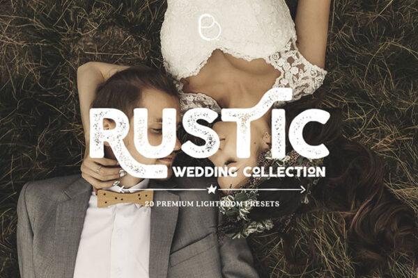 دانلود پریست های لایت روم عروسی Rustic Wedding Lightroom Presets