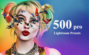 دانلود ۵۰۰ پریست لایت روم CreativeMarket 500 Premium Lightroom Presets