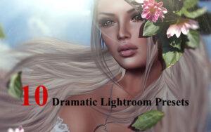 دانلود 10 پریست لایت روم تم رنگی عاشقانه Dramatic Lightroom Presets