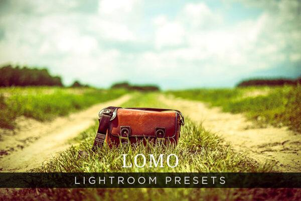 دانلود 10 پریست لایت روم تم رنگی Lomo Lightroom Presets Volume 1
