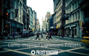 دانلود 10 پریست لایت روم تم لوموگرافی Lomo Lightroom Presets