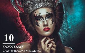 دانلود 10 پریست لایت روم پرتره Pro Portrait Lightroom Presets