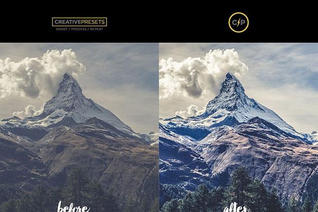 دانلود 10 پریست لایت روم HDR کنتراست نور HDR PRO Lightroom Presets