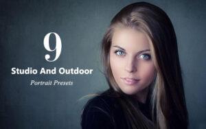 دانلود 10 پریست پرتره لایت روم Studio And Outdoor Portrait Presets