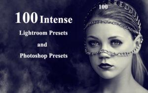 دانلود 100 پریست لایت روم و فتوشاپ ویژه آتلیه عکاسی Intense Presets Pack