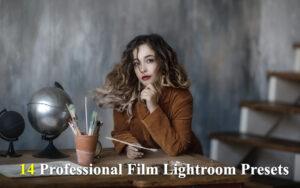 دانلود 14 پریست لایت روم سینمایی Professional Film Lightroom Presets