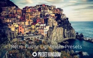 دانلود 15 پریست سینمایی لایتروم Retro Flavor Lightroom Presets