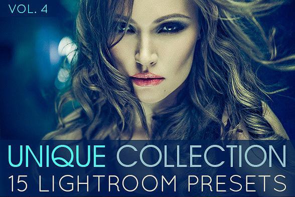 دانلود 15 پریست لایت روم تم رنگی یکتا Unique Lightroom Presets Vol.4