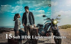 دانلود 15 پریست لایت روم HDR نرم Soft HDR Lightroom Presets