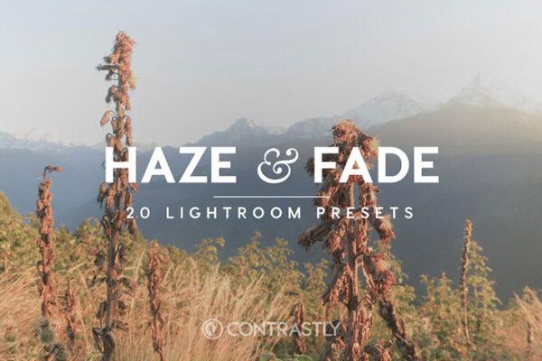 دانلود 20 پریست لایتروم تم مه رنگی Haze And Fade Lightroom Presets