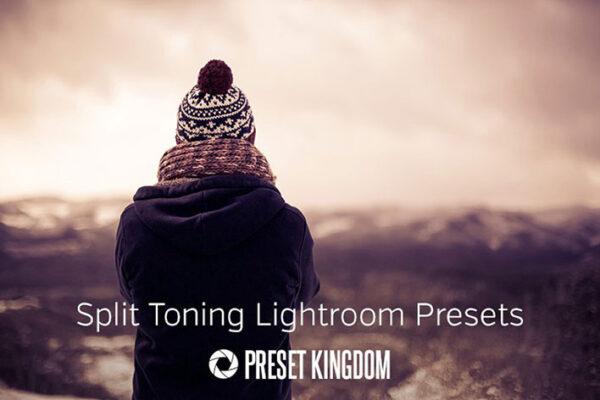 دانلود ۲۳ پریست لایت روم جدا کننده رنگ Split Toning Lightroom Presets
