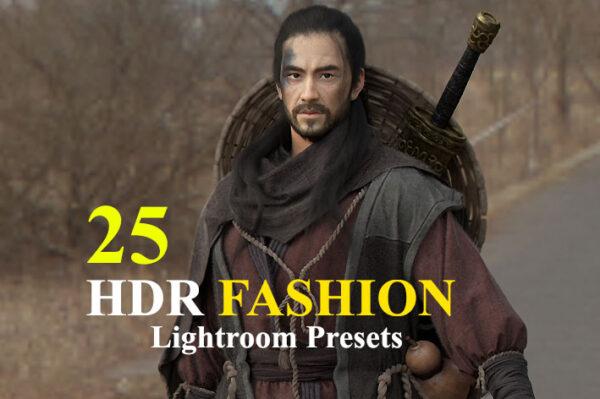 دانلود 25 پریست لایت روم HDR فشن HDR Fashion Lightroom Presets
