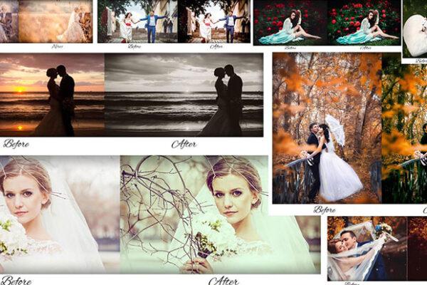 دانلود 31 پریست لایت روم عروسی Wedding Lightroom Presets