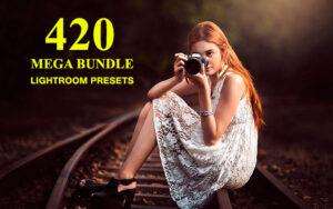 دانلود 420 پریست لایت روم MEGA BUNDLE LIGHTROOM PRESETS