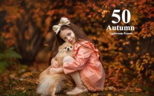 دانلود 50 پریست آماده لایتروم با افکت فصل پاییز Autumn Lightroom Presets
