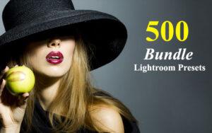 دانلود 500 پریست لایت روم مخصوص دسکتاپ Lightroom Presets Bundle