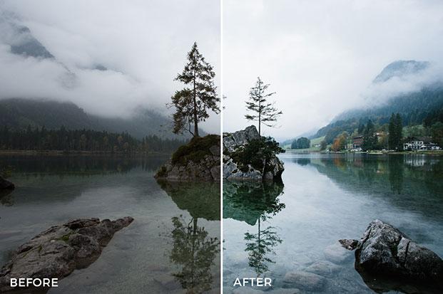 دانلود 70 پریست لایت روم مخصوص طبیعت Ultra Landscapes Lightroom Presets