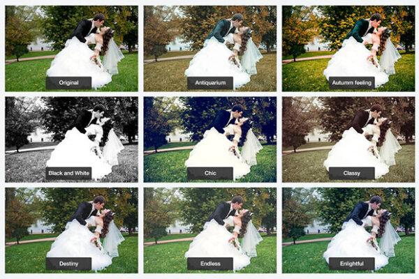 پریست اصلاح رنگ عکس عروسی لایت روم Wedding Lightroom Presets