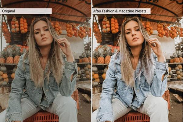 پریست لایت روم فشن حرفه ای لایت روم و کمرا راو Fashion Lightroom Presets (4)