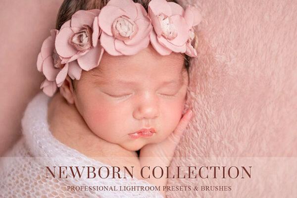 پریست لایت روم مخصوص عکس نوزاد BANEBERRY Newborn Lightroom Presets