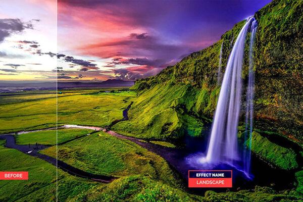 پریست لایت روم HDR کنتراست نور و اشباع رنگ Premium HDR Lightroom Presets
