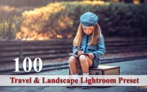 100 پریست لایت روم تم مسافرت و طبیعت Travel And Landscape Lightroom Preset
