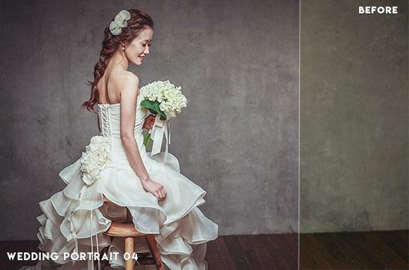 13 پریست لایت روم پرتره عکس عروسی Wedding Portrait Lightroom Presets