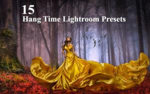 15 پریست لایت روم تم رنگی زمان هیجان Hang Time Lightroom Presets