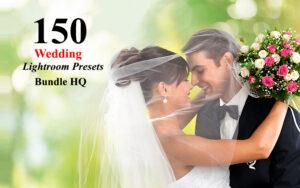 150پریست لایت روم عروسی ویژه آتلیه های عروس و داماد Wedding Lightroom Presets Bundle HQ