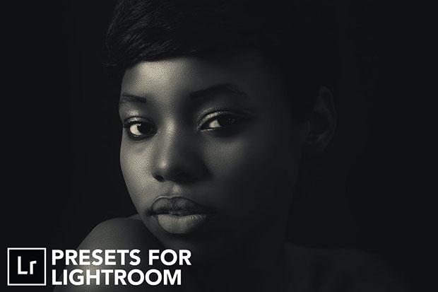 20 پریست لایت روم تم سیاه و سفید Royal Black And White Lightroom Presets