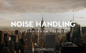 23 پریست لایت روم ایجاد نویز در عکس Noise Handling Lightroom Presets