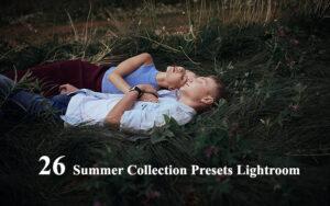 26 پریست لایت روم برای تصاویر تابستانی Summer Collection Presets Lightroom
