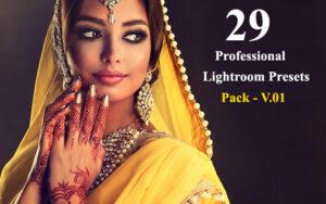 29 پریست لایت آماده روم حرفه ای Professional Lightroom Presets Pack - V.01