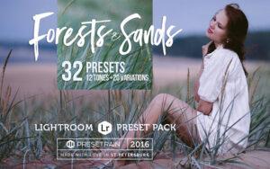 32 پریست لایت روم تم ساحل ماسه ای Forests And Sands Lightroom Presets