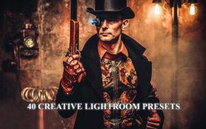 40 پریست آماده لایتروم تم رنگ خلاق CREATIVE LIGHTROOM PRESETS