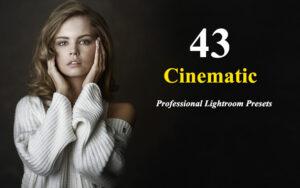 43 پریست آماده لایت روم با افکت های سینمایی Professional Lightroom Presets