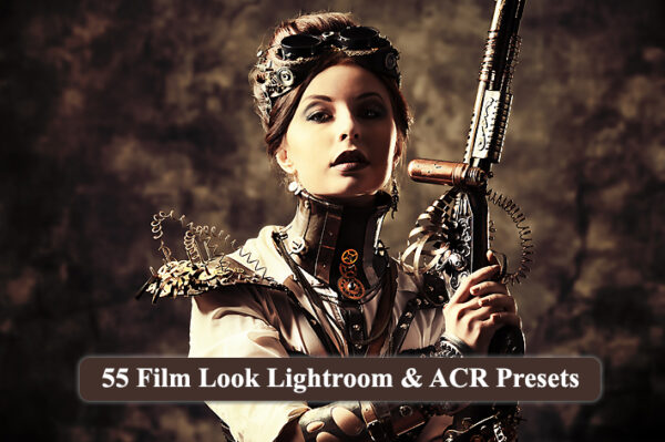 55 پریست لایت روم و کمرا راو رنگ سینمایی Film Look Lightroom & ACR Presets