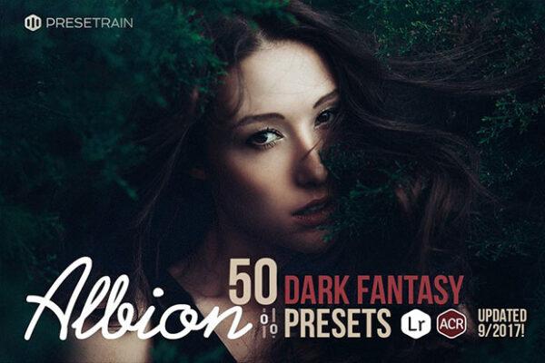 albion-dark-fantasy-presets-for-lightroom-and-acr-photoshop-by-presetrain-