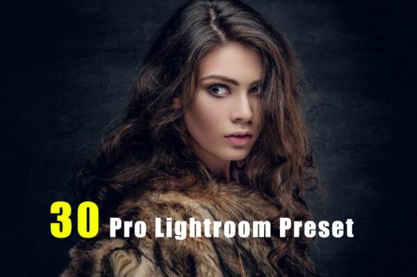 دانلود 30 پریست رنگی لایت روم حرفه ای Pro Lightroom Preset