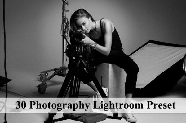 دانلود 30 پریست رنگی لایت روم عکاسان Photography Lightroom Preset