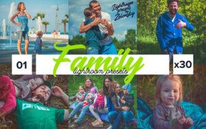 دانلود 30 پریست لایت روم عکس خانوادگی Family Lightroom Presets