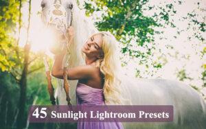 دانلود 45 پریست لایت روم نور خورشید Sunlight Lightroom Presets